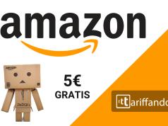 amazon 5€ buoni regalo gratis