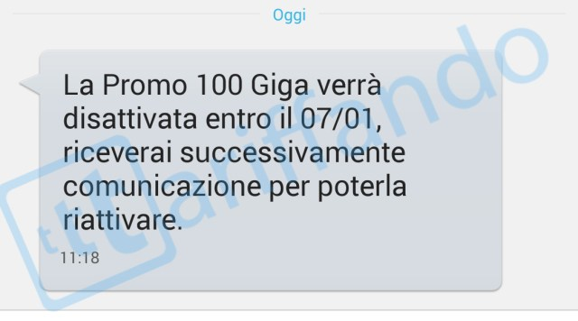 3 italia promo 100 giga