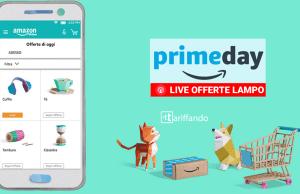 Diretta offerte lampo Amazon Prime Day 2017