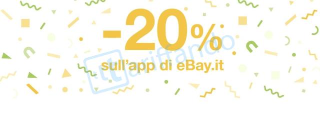 sconto 20 ebay
