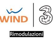 wind tre rimodulazioni