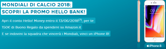 hello bank promo mondiali