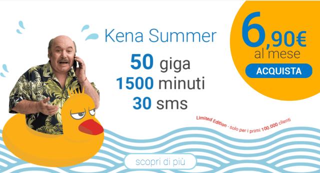 kena summer agosto 2018