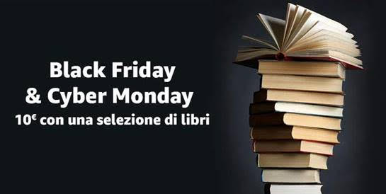 10 euro libri amazon black friday