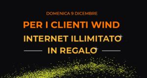 wind internet illimitato 9 dicembre