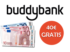 buddybank 40 gratis tariffando