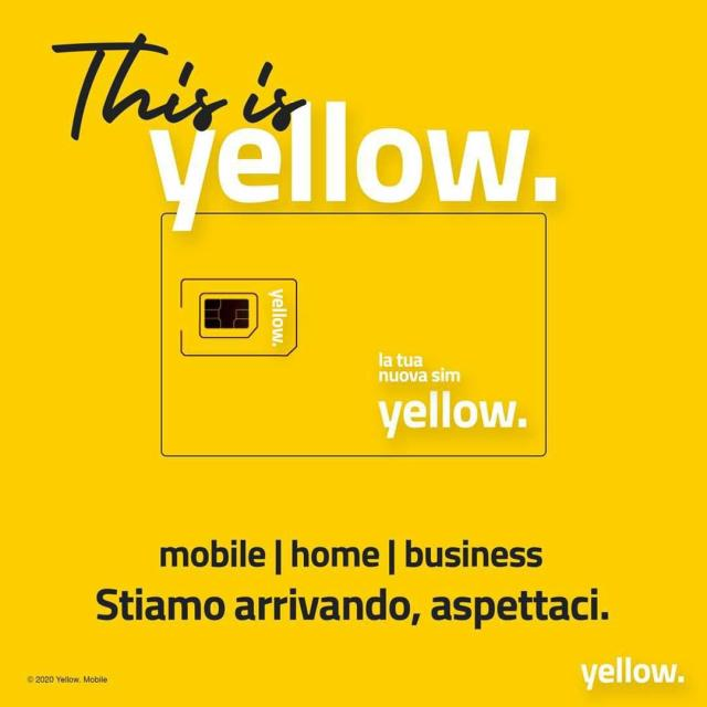 yellow mobile