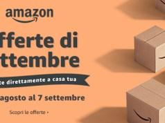 amazon offerte di settembre