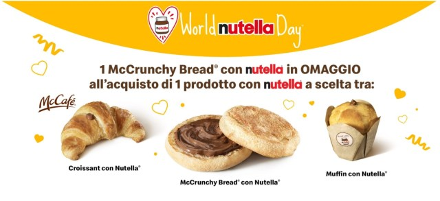 nutella day mcdonals