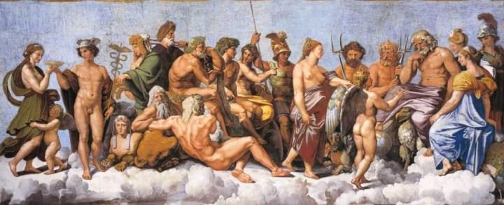 Yunan Mitolojisi - Yaratılış, Tanrılar ve Görevleri   Tarihli Sanat