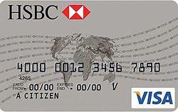 Tarjeta de debito HSBC