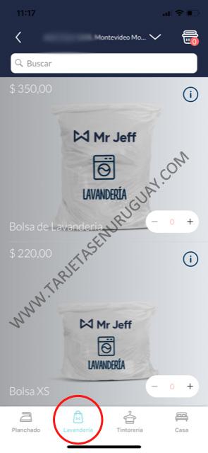 Cómo funciona lavandería Mr Jeff