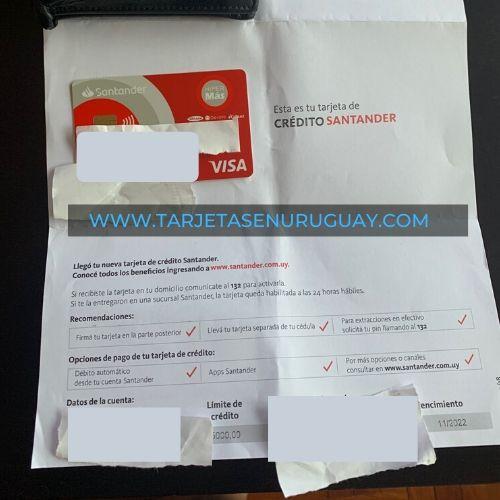 Tarjeta Hipermas Banco Santander