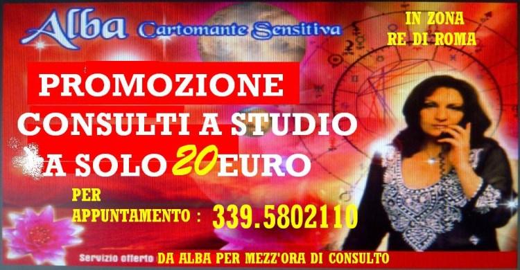 *** PROMOZIONE DELL'ESTATE*** : CONSULTI A STUDIO A SOLO 20 EURO!!!