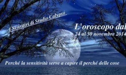 Oroscopo dal 24 al 30 novembre