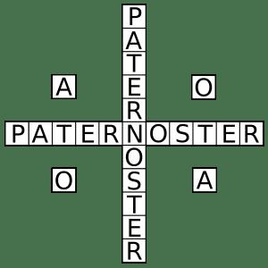 palindromo-paternoster