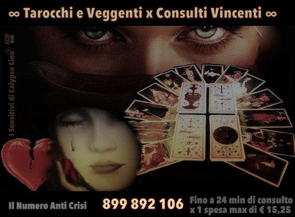 Tarocchi e Veggenti per Consulti Vincenti 899.892.106