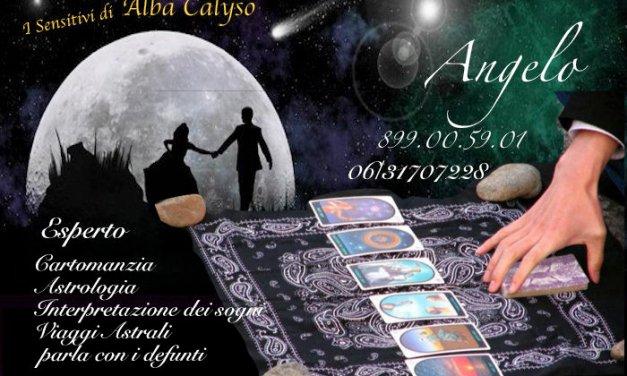 Sensitivo Angelo, uno dei nostri. 899.00.59.01