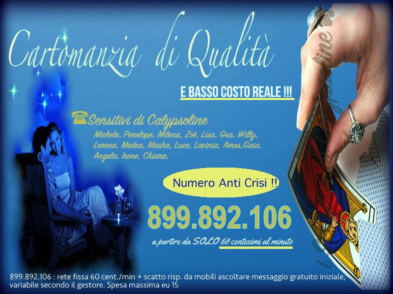 Numero a Basso Costo  per Cartomanzia di Alta Qualità. 899.892.106