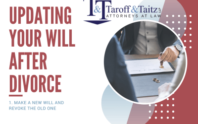 Updating Your Will After Divorce – Make a New Will and Revoke The Old One