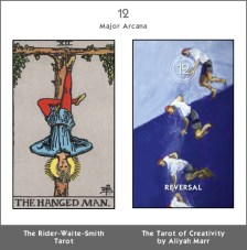 12 The Hanged Man/Reversal