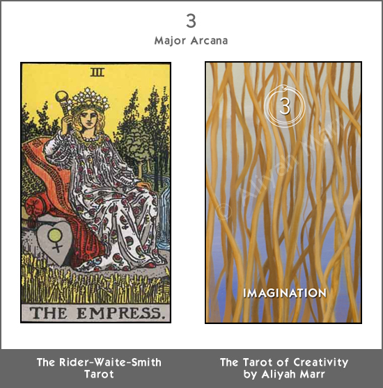 The Empress/Intuition from The Tarot of Creativity