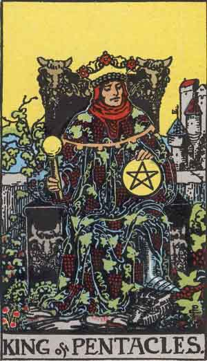King of Pentacles Tarot card
