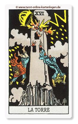 Große Arkana Der Turm
