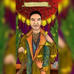 Emilie's Kindred Spirits Tarot , J. R Rivera , six of coins