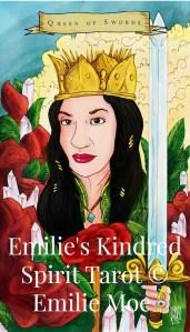 queen of swords tarot, emilie kindred spirits tarot , Luz Quiñones