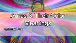 Aura Color Meanings