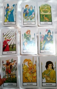 THE FOUR ACES OF THE TAROT