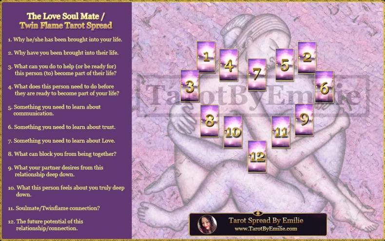 soul mate twin flame tarot reading