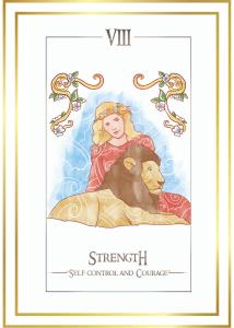 simplicity tarot cards strength