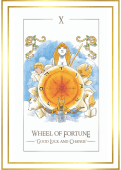 simplicity tarot cards Wheel Of Fortune
