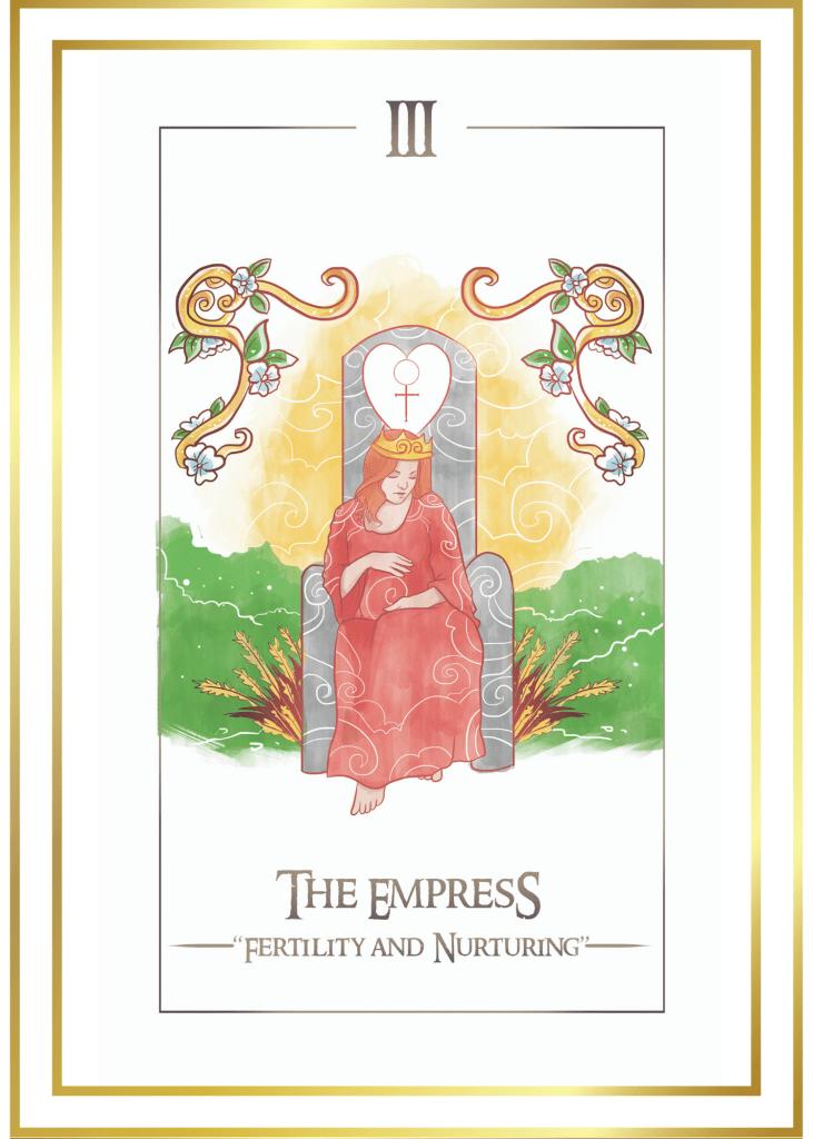 simplicity tarot cards The Empress