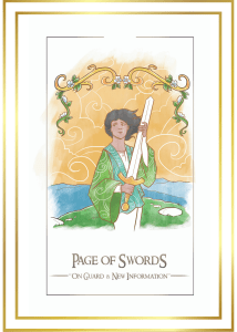 page of swords tarot