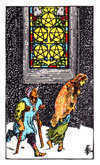 Tarot Minor Arcana card: Five of Pentacles