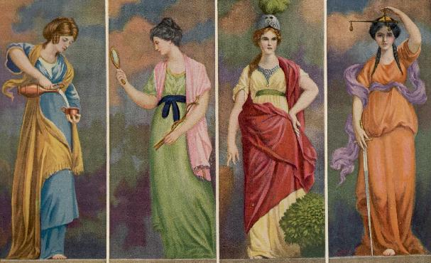 The Four Cardinal Virtues in Tarot | Tarot-ically Speaking