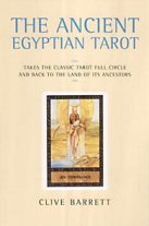 Ancient Egyptian Tarot Book by Clive Barrett