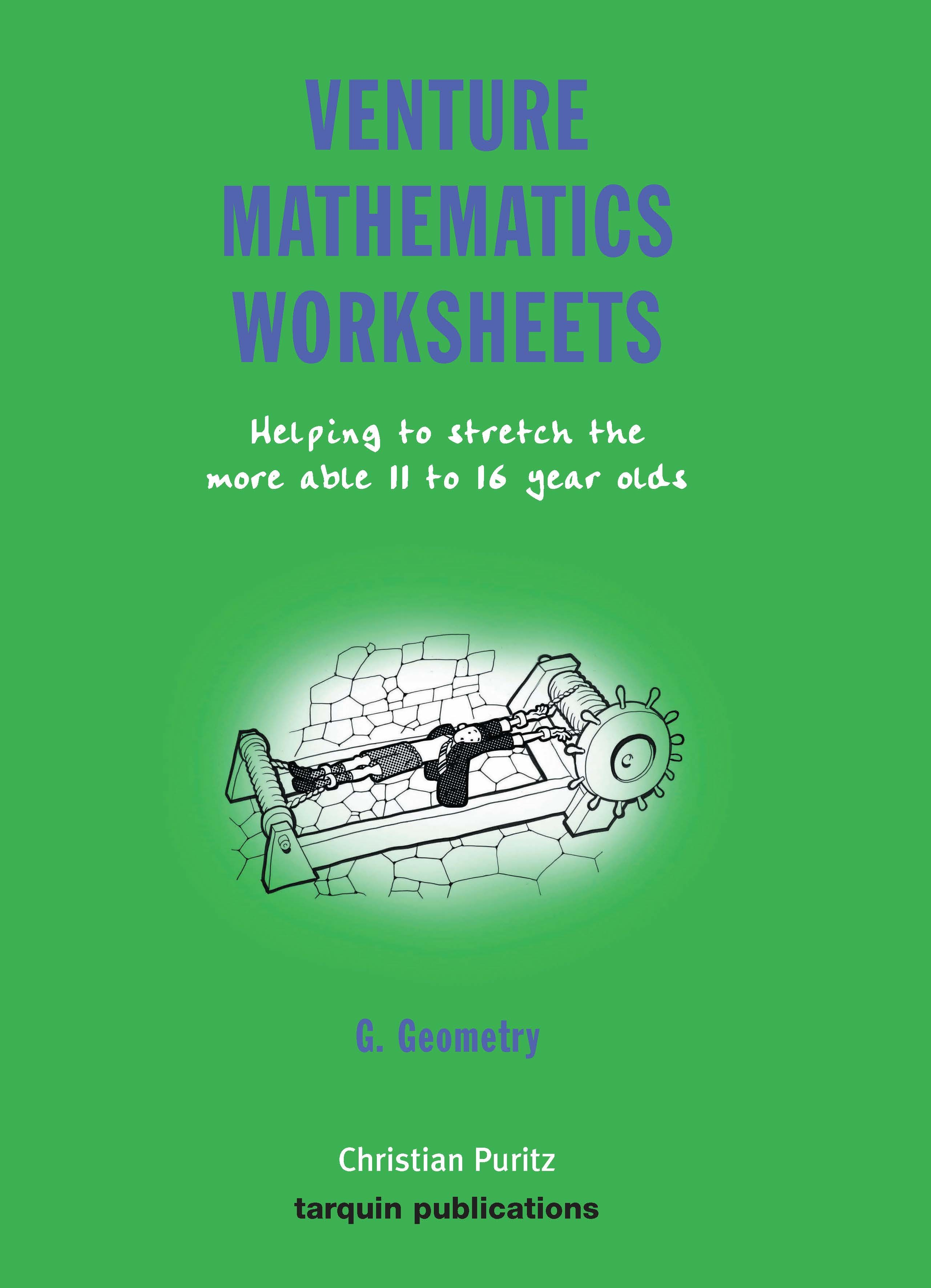 Venture Mathematics Worksheets Geometry Bk G
