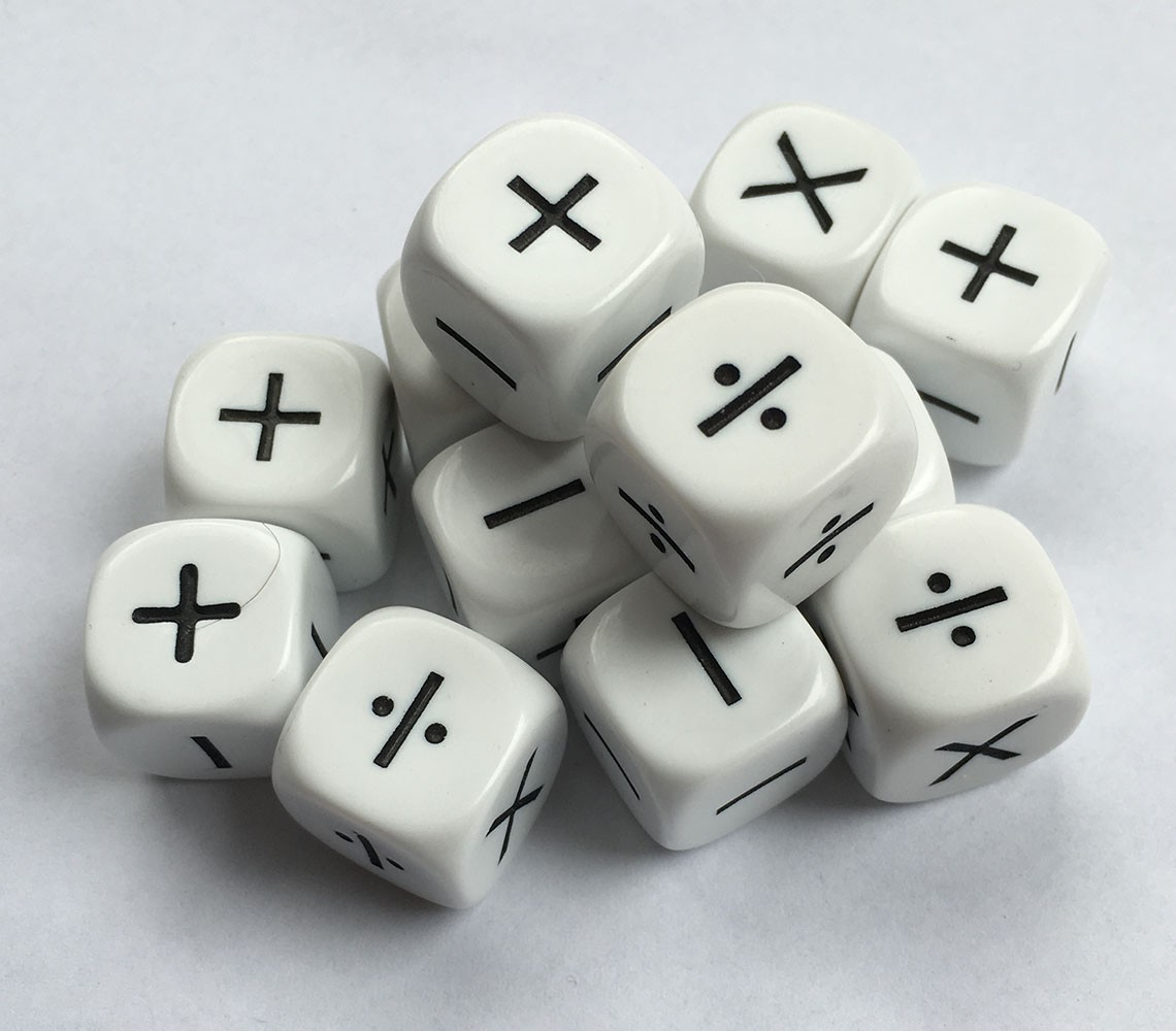 Operations Dice Set Of 12