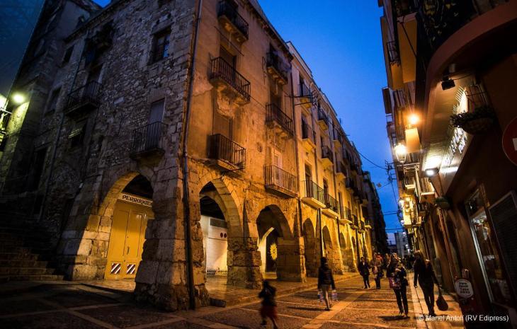 Bóvedas de la calle Merceria | Tarragona Turisme
