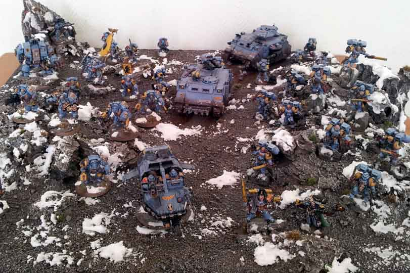 My Armies on Parade Entry for 2011