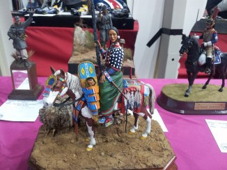 Indian on horseback at IPMS 2011