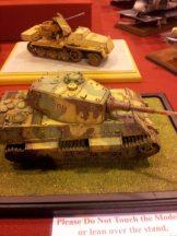 Tank weathering