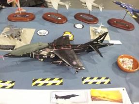 Model Harrier at IPMS Telford