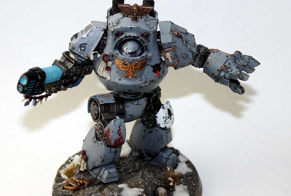 Showcase: Space Wolves Contemptor Dreadnought