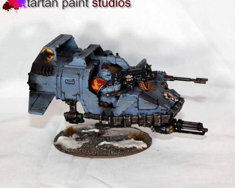 Space Wolves Razorback, Predator and more