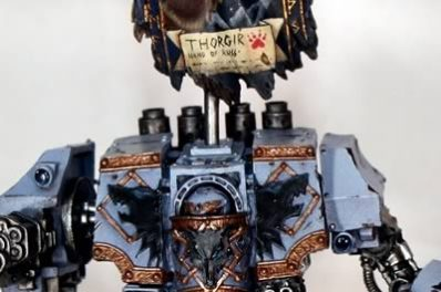 Showcase: Space Wolves Venerable Dreadnought